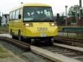 公路铁路两用公交车在日本测试(图)